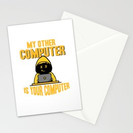 Hacker - My other Computer is your Stationery Cards