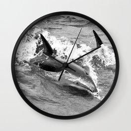Dancing Duskies Wall Clock