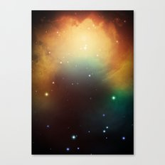 year3000 - Orange Space Canvas Print