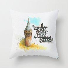 Istiklal Caddesi Throw Pillow