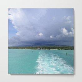 Sea Landspace Metal Print