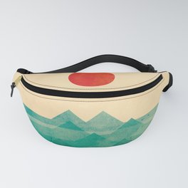 The ocean, the sea, the wave Fanny Pack