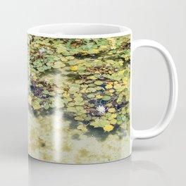 Monet Style Lily Pads Coffee Mug