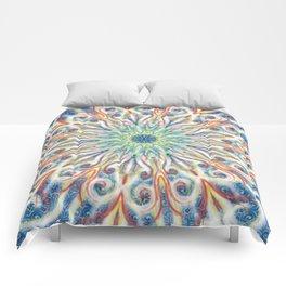Colorful Center Swirl Comforters