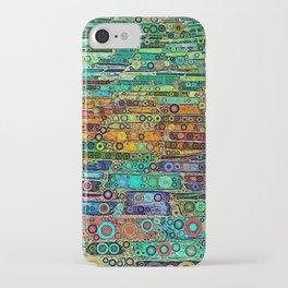 :: Technicolor Walkway :: iPhone Case