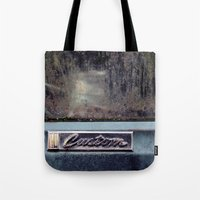 custom Tote Bags featuring Custom by PlaidRed