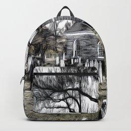 Sleepy Hollow Church Art Backpack