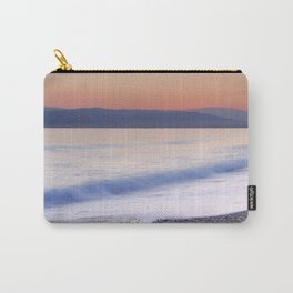 Pink waves. Sunset Carry-All Pouch