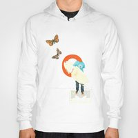 surfer Hoodies featuring Surfer by Prints der Nederlanden