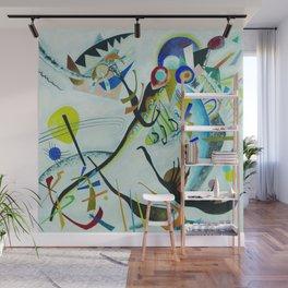 Vassily Kandinsky 1921 Segment blue Wall Mural