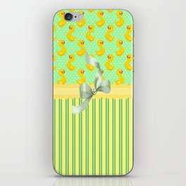 Rubber Duckys  iPhone Skin