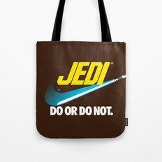 Brand Wars: Jedi - blue lightsaber Tote Bag