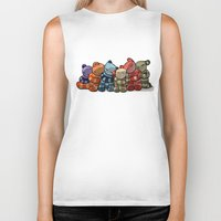 cuddle Biker Tanks featuring Cuddle by Friederike Ablang