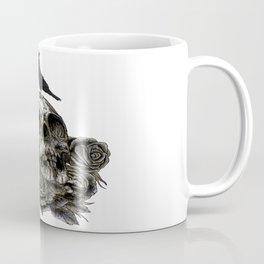 Skull and Crow Coffee Mug