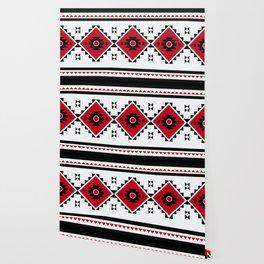 Bulgarian Folklore Inspired Design - KANATITSA Wallpaper