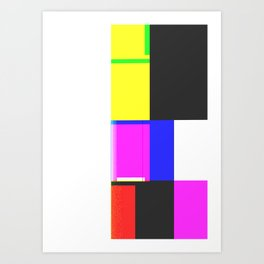 Error 012 Art Print