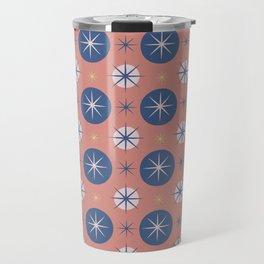 Retro tiles Travel Mug