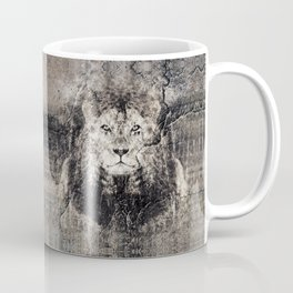 Lion Stone Coffee Mug