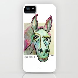 Pablo Pic-Ass-O iPhone Case