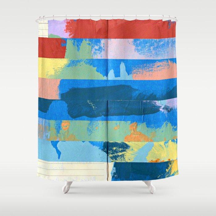 Tape Diary 12 Shower Curtain