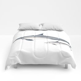 Long-beaked dolphin and baby Comforters