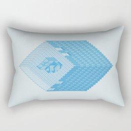 Wolfson Axonometric. Rectangular Pillow