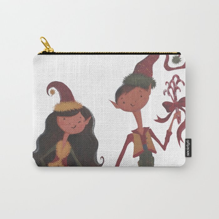 Have YoursELF a Merry Little Christmas! Carry-All Pouch
