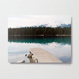Lake Edith Jasper Alberta Metal Print