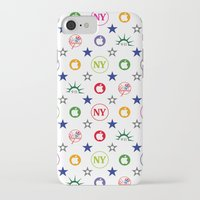 yankees iPhone & iPod Cases featuring New-York Yankees 9/11 Vintage Laptop Skin by Vintage Deco Print Posters