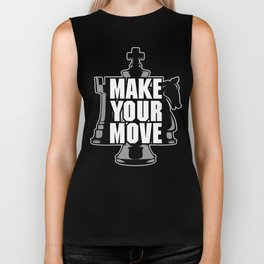 Make Your Move Chess Biker Tank