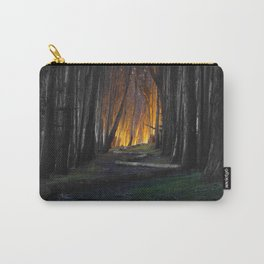 Haunted Forest and Andrew Goldsworthy Sculpture Carry-All Pouch