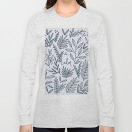 Calm botanic print Long Sleeve T-shirt