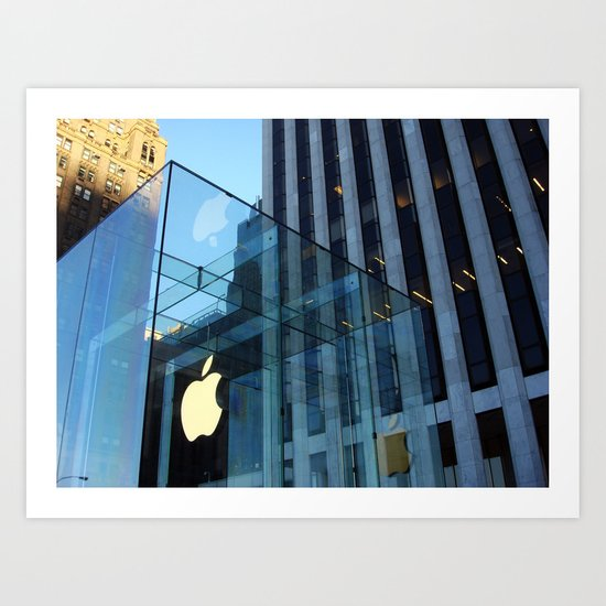 Apple Store @ NYC Art Print
