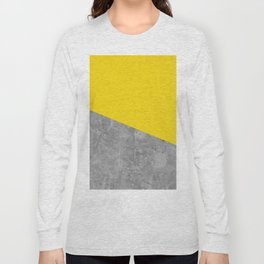 Geometry 101 Vivid Yellow Long Sleeve T-shirt