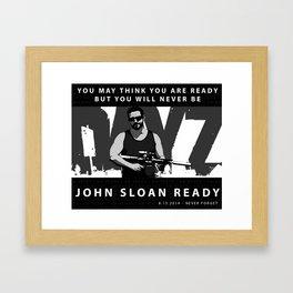 John Sloan Ready Framed Art Print