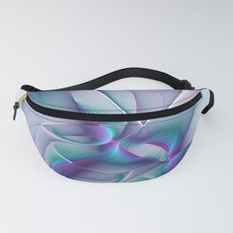 A Colorful Beauty, Abstract Fractal Art Fanny Pack