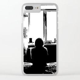 4 a.m. Clear iPhone Case