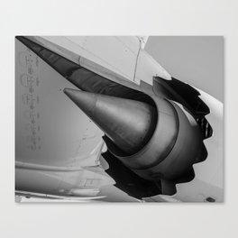 Serrated Nacelle Canvas Print