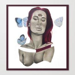Aislado : Sensualidad Canvas Print