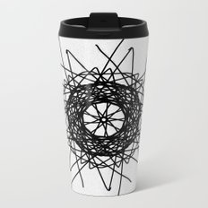 love mandala number 3 - bird's nest Metal Travel Mug
