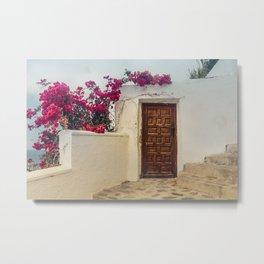 Doors of Salobreña Metal Print