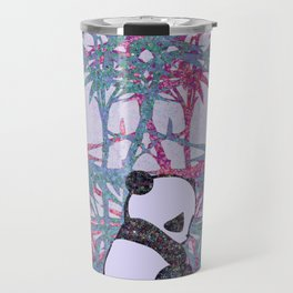 Sad Panda (paper cut) Travel Mug