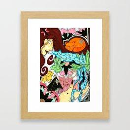 River's Thirst Framed Art Print