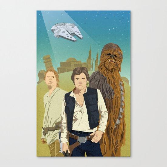 The Tatooine Three Canvas Print