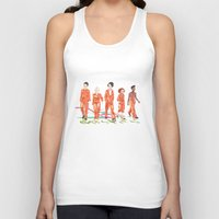 misfits Tank Tops featuring Misfits by aNiark