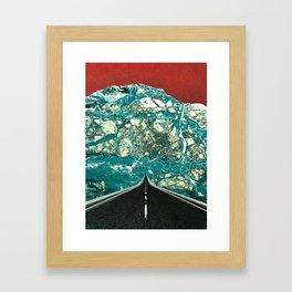 Bioelectrical communication Framed Art Print