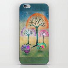 Moon Bird Forest iPhone & iPod Skin