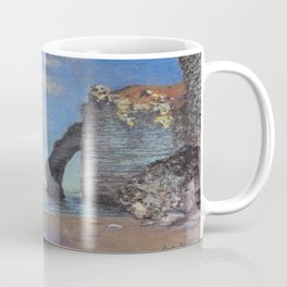 Claude Monet's The Cliffs at Etretat Coffee Mug