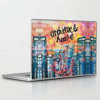 architect Laptop & iPad Skins featuring Architect Heart by Anwar B