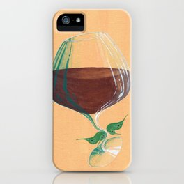 Wine Fairies 4 - Grenache iPhone Case